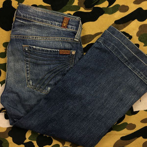  7 for all Mankind Crop Dojo Denim Jeans